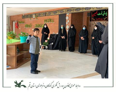 استقبال از حامد حجتی  مدیر کل جدید کانون استان قم