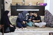دیدار مدیرکل و کارکنان کانون پرورش فکری مازندران با فرزندان شهید مدافع حرم