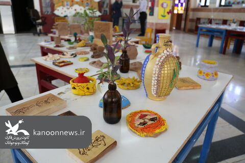 نمایشگاه آثار اعضاء کانون استان بوشهر در کارگاههای مجازی