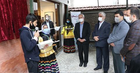 آیین گشایش نگارخانه «آفرینش» کانون استان گیلان