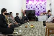 دیدار با خانواده شهید سلیمان حدادی عضو کانون پرورش فکری