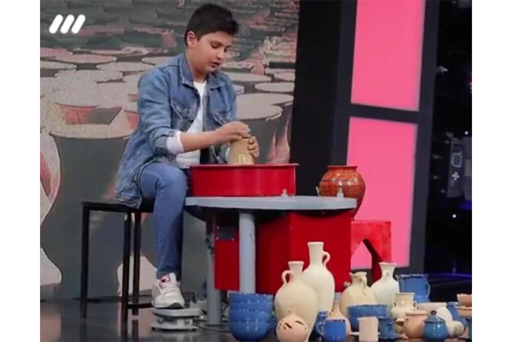 اعجوبه لالجینی در هفته ملی کودک عضو کانون شد