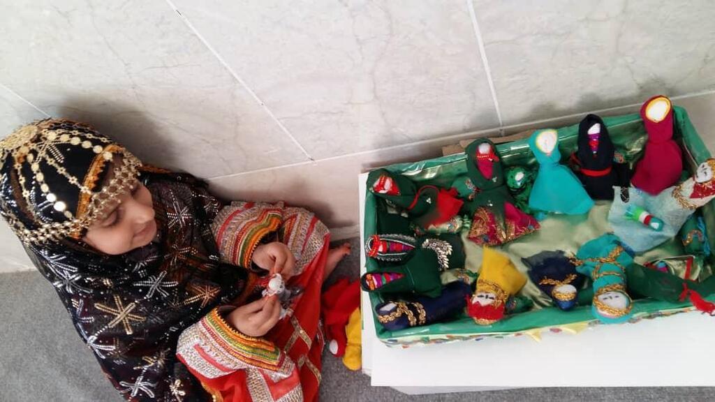 برگزاری مهرواره عروسک ها و لالایی ها در سیریک