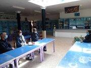 مدیر آموزش و پرورش شهرستان سرایان از مرکز فرهنگی و هنری کانون بازدید کرد