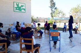کارگاه بازی و قصهگویی خلاق در کانون پرورش فکری کردکوی