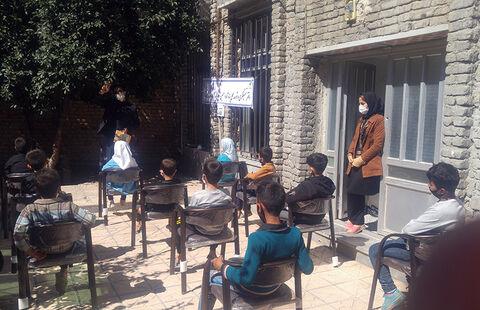 فعالیتهای کتابخانهی سیار شهری کانون اردبیل در ایام کرونا