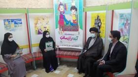 امام جمعه و فرماندار تنکابن از نمایشگاه کانون پرورش فکری تنکابن دیدن کردند