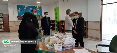 بازدید رئیس دانشکده دین و رسانه و همراهان از مرکز10و مجتمع قم