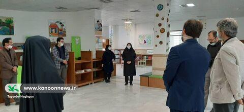 بازدید رئیس دانشکده دین و رسانه و همراهان از مرکز10
