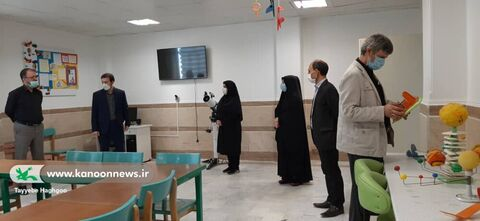 بازدید رئیس دانشکده دین و رسانه و همراهان از مرکز هواو فضا کانون استان قم