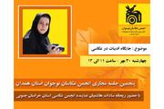 پنجمین نشست مجازی انجمن عکاسان نوجوانان استان همدان برگزار شد
