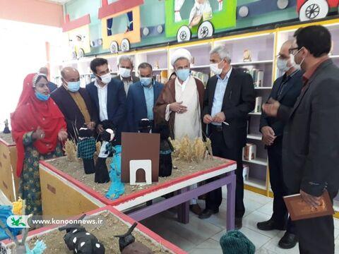 بازگشایی نمایشگاه مهروارهی بومی و محلی شالمزرد