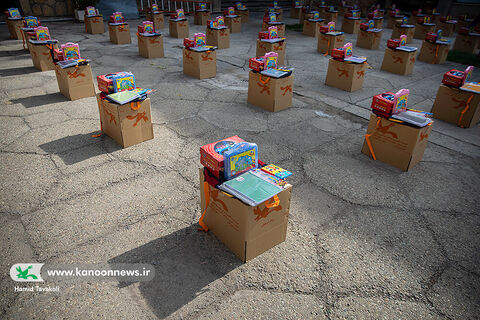 """Pouyesh Cultural Packs, """"The Smile of Hope and Kindness"""" is Prepared at Kanoon."""