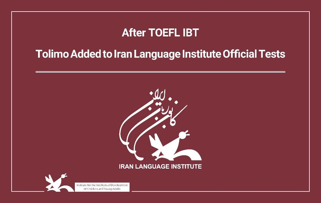 Tolimo Added to Iran Language Institute Official Tests