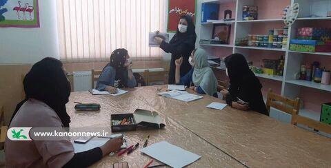 گزارش تصویری فعالیت های هنری مرکز موجش در ایام کرونا