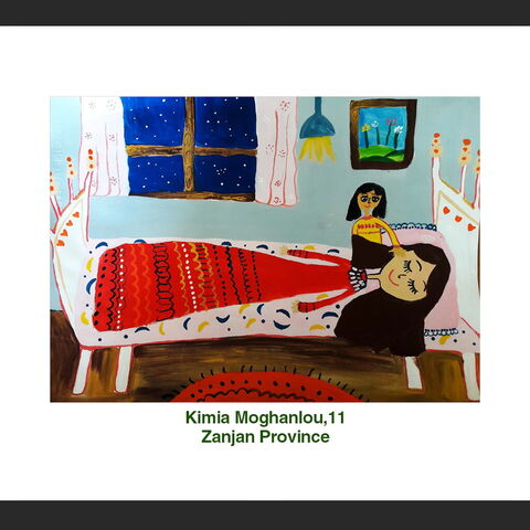 Kimia Moghanlou,11, Zanjan Province