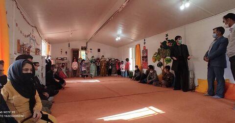 اهدای کتاب به مناطق روستایی توسط کانون پرورش فکری استان کرمانشاه