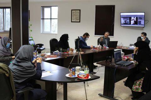 دومین نشست فصلی مسوولان مراکز فرهنگی هنری مازندران به صورت مجازی برگزار شد