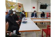 حضور فرماندار بهار و مسئولان شهرستان لالجین در کانون پرورش فکری شهر جهانی سفال