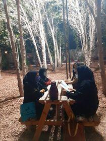نوجوانان جزیره ابوموسی یک فنجان کتاب نوشیدند