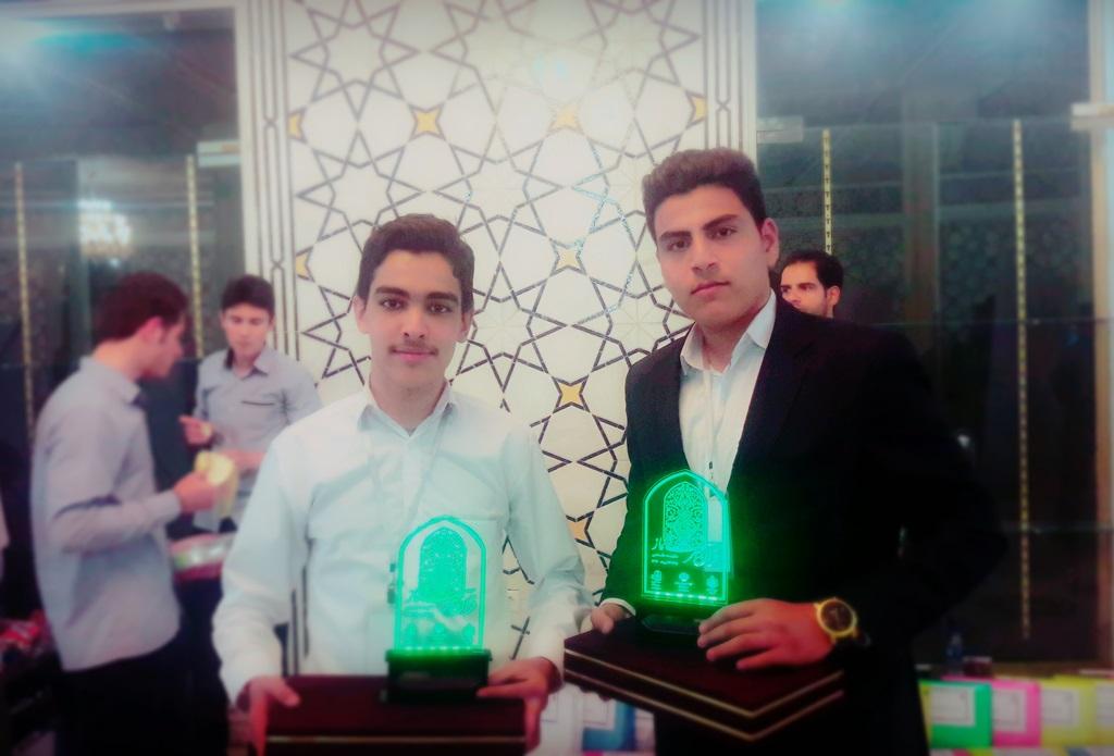 افتخار آفريني اعضاي نوجوان مرکز راميان در مسابقه کشوري قرآن، عترت و نماز