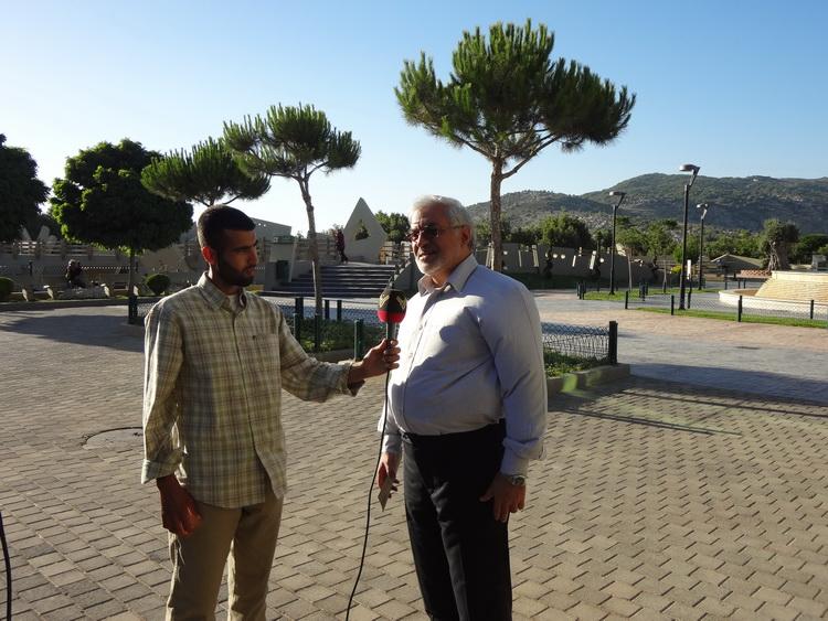 تجلیل مدیرعامل کانون از شهدای مقاومت اسلامی لبنان در گفتوگو با المنار