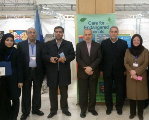 معرفی کانون در نمایشگاه جانبی کنفرانس وزرای علوم و فناوری کشورهای عضو جنبش عدم تعهد