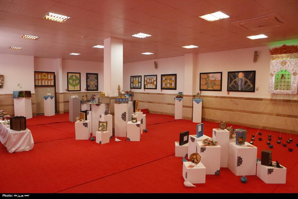 گشایش نمایشگاه دایمی آثار کودک و نوجوان جشنواره رضوی در قم