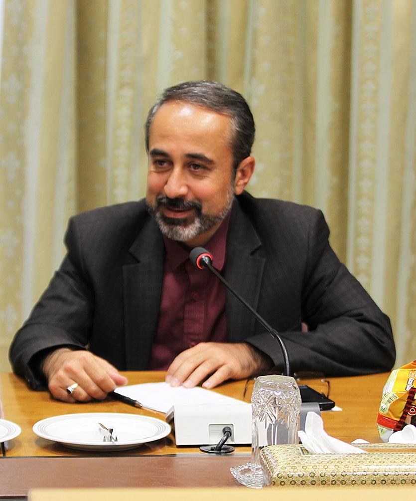 مهدي علياکبرزاده، مديرکل اردوها و فضاهاي فرهنگي آموزش و پرورش/ عکس از يونس پناهي