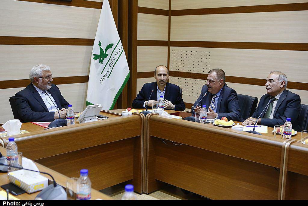 بازدید مسوولان وزارت فرهنگ و گردشگری عراق از کانون