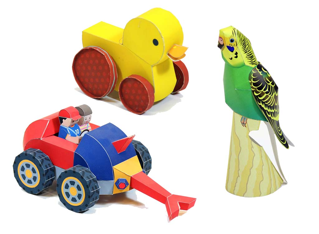 مرغ عشق، جوجه اردک و ماشين گنج ياب