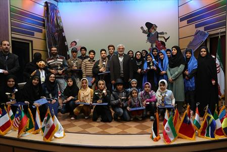 اختتامیه ی جشنواره فیلم کودکان برای کودکان کانون در قزوین