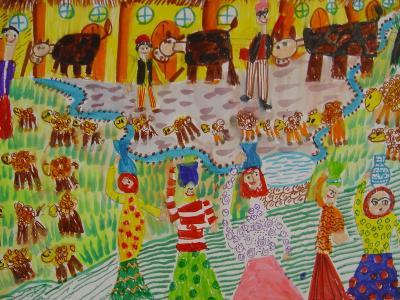 موفقیت 17 کودک و نوجوان ایرانی در مسابقه نقاشی تورن لهستان