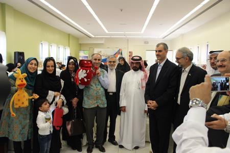 آغاز هفتهی دوستی کودکان ایران و قطر