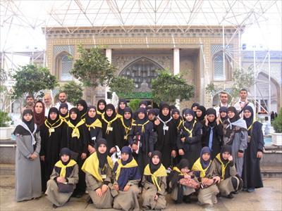 اردوی پنجمین گروه از نوجوانان عضو موسسه کشافهالمهدی لبنان در ایران