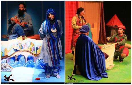 درخشش دو نمایش کانون در جشن روز جهانی تئاتر