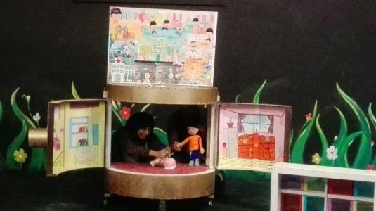 اجرای نمایش «ماجرای احمد و سارا» در مدارس تهران