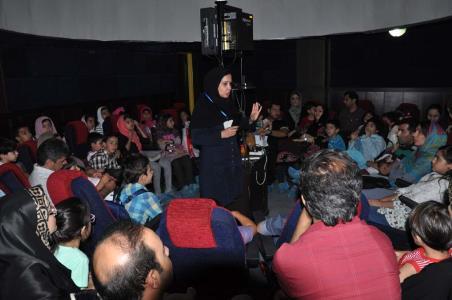 تصاویر رصد ماه گرفتگی در کانون البرز