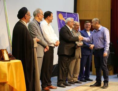 مراسم اهدای جوایز به برگزیدگان دوازدهمین جشنواره مطبوعات کودک