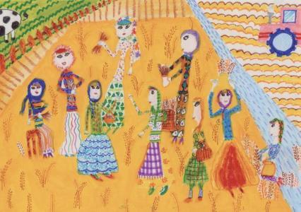سهم کودکان و نوجوانان ایرانی از مسابقه نقاشی هیکاری ژاپن؛ 7 جایزه ارزشمند