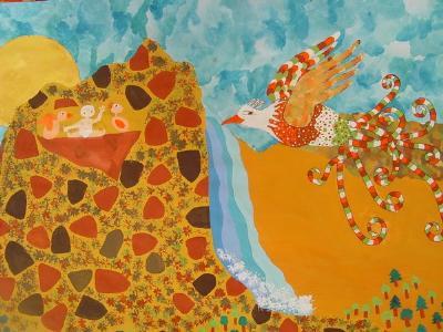 نوزده کودک نقاش ایرانی از بلاروس 20 گرفتند