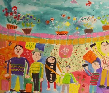 دیپلمهای افتخار بلغارستان به اعضای نقاش کانون رسید