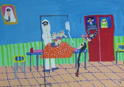 نقاشي از آيناز نجفيان
