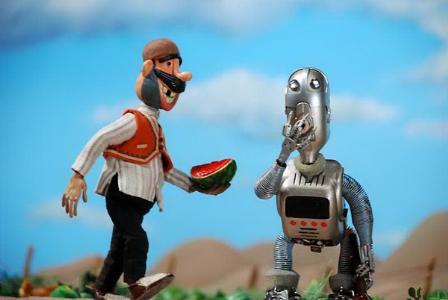 کشاورز و روبات در مکزیک نمایش داده شد