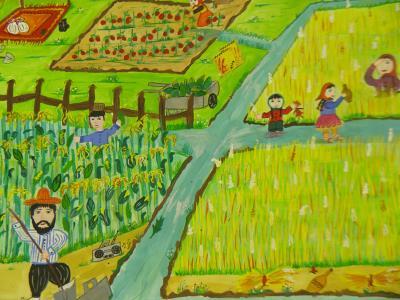 """کودکان هنرمند ایرانی از مسابقه نقاشی """"کاناگاوا""""ی ژاپن 3 دیپلم افتخار گرفتند"""