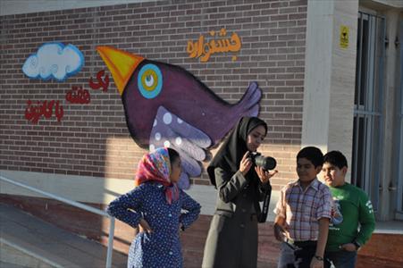 بازدید نوجوانان از مرکز نجوم در جشنواره یک هفته با کانون،زنجان