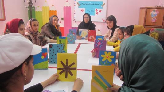 گزارش روز ادبیات کودک و نوجوان در مراکز فرهنگی هنری کانون استان کردستان