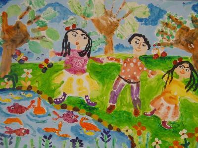 کودکان و نوجوانان نقاش ایرانی از بلغارستان 10 دیپلم افتخار دریافت کردند