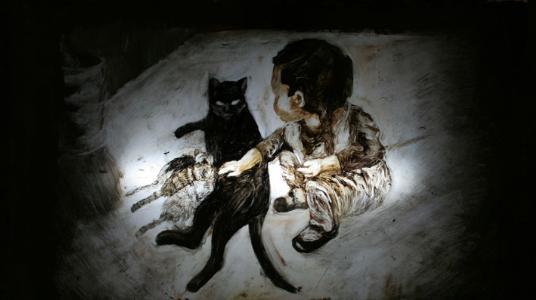 نمایش «بچه گربه» در کلاسترکینوی هلند