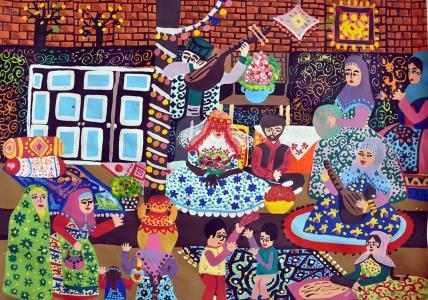 درخشش کودکان ایرانی در مسابقه نقاشی بلغارستان